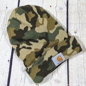 Carhartt Camo Beanie Hat One Size